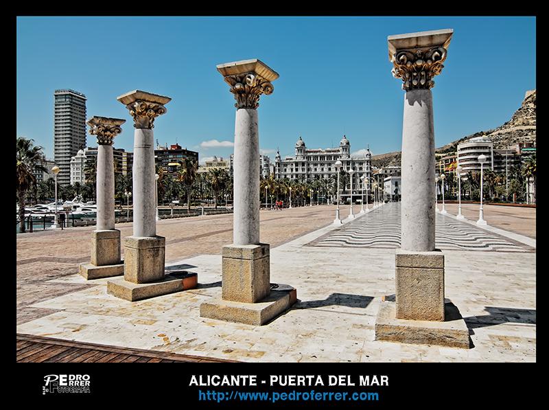 Alicante - Puerta del Mar