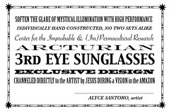 third eye sunglasses: label