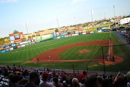 Richmond Flying Squirrels Baseball Game