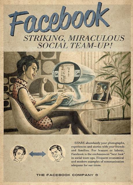 Facebook ad 60s