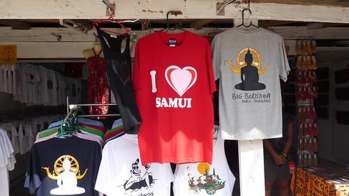 サムイ島 今日のお天気 コサムイ Tシャツ