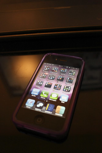 iPhone 4 with iSkin Vine
