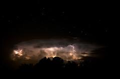 Stars shining bright above (csabatokolyi) Tags: cloud night stars thunder