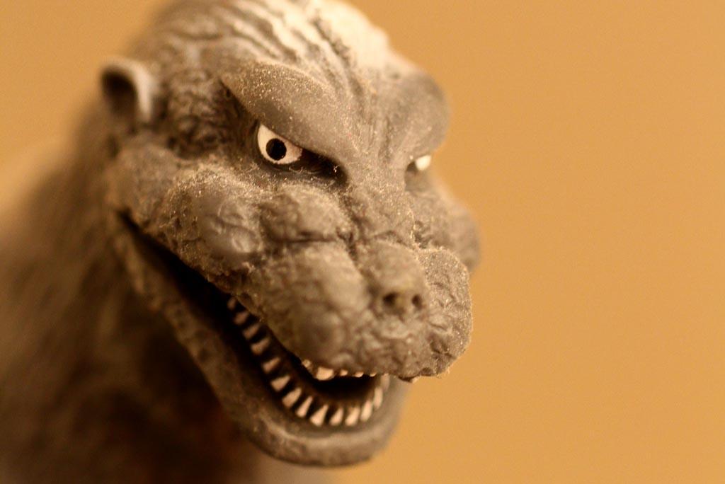 #219 ~ Godzilla macro