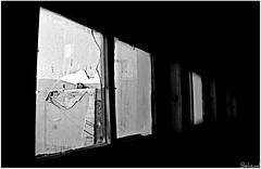 Broken window in black life         (Behzad No) Tags: life sky black broken dark alone sad iran shiraz pars winow fars parseh nikond90 behzadno
