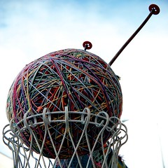 World's Largest Ball of Yarn