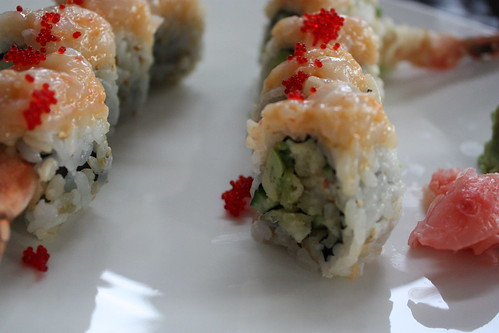 Pink Dragon Roll