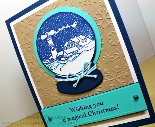 Wishing You a Magical Christmas Snow Globe (4)
