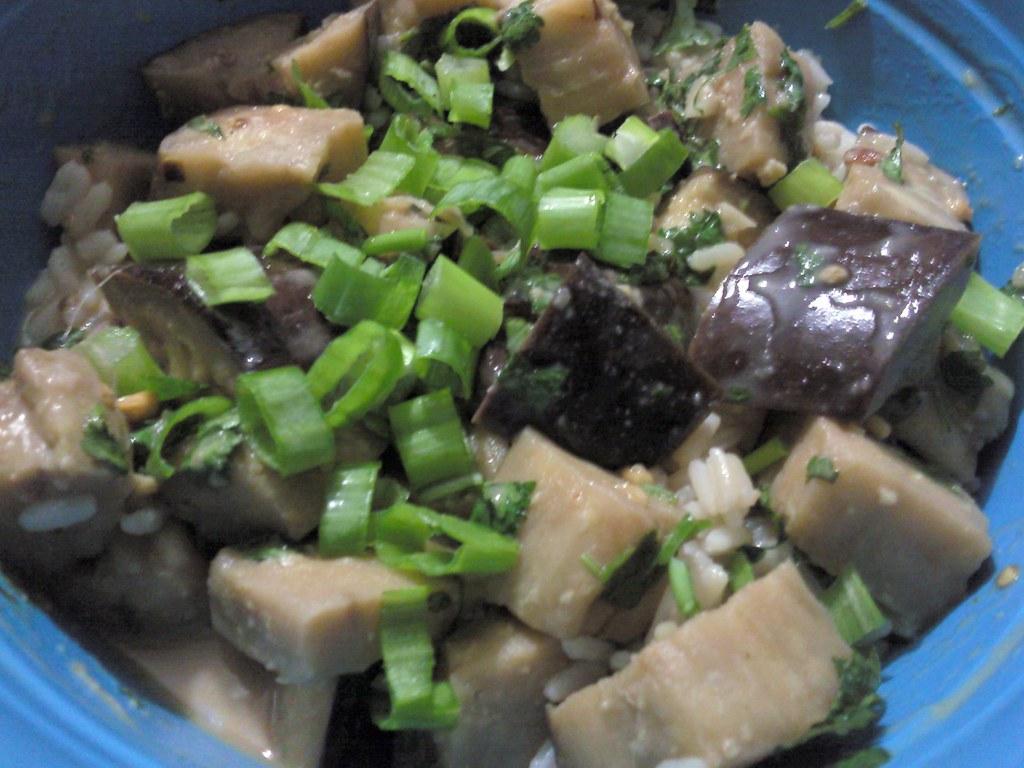 Thai Style Eggplant