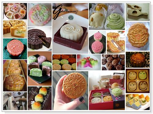 Love moon cakes...