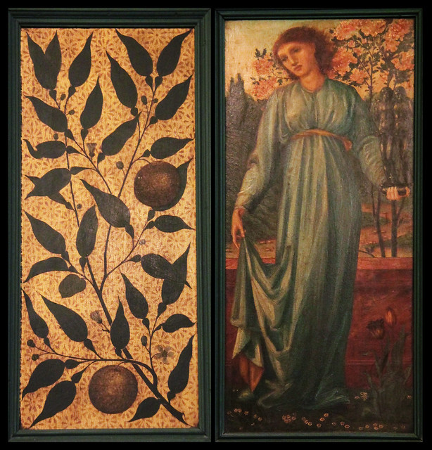 Panel by Edward Burne-Jones - collage - Morris Room