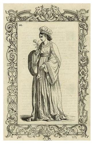 015-Dama japonesa siglo XVI-Habiti antichi et moderni di tutto il mundo- Cesare Vecellio