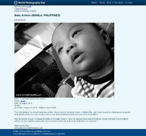World Photo Day Gallery - Baby Ashton (MANILA, PHILIPPINES)_1282296292277