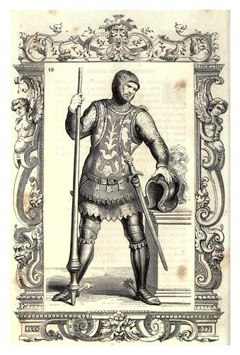 005-Veneciano armado segun la moda del siglo XII-Habiti antichi et moderni di tutto il mundo- Cesare Vecellio