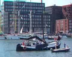 Amsterdam Sail 2010, 3D photo anaglyph (Stereomania) Tags: amsterdam harbor boat stereoscopic stereophoto stereophotography 3d sailing ship anaglyph event stereo sail stereoview nautical 2010 knsm
