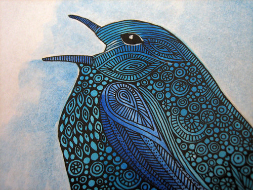 The Blue bird (details)