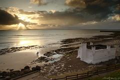 Enniscrone Cliff Baths (Neville Gawley) Tags: ireland sunset sea seaweed beach bay baths enniscrone killala cosligo inniscrone