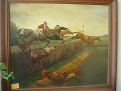 """Steeplechase, Oil on Board • <a style=""""font-size:0.8em;"""" href=""""http://www.flickr.com/photos/51721355@N02/4913073551/"""" target=""""_blank"""">View on Flickr</a>"""