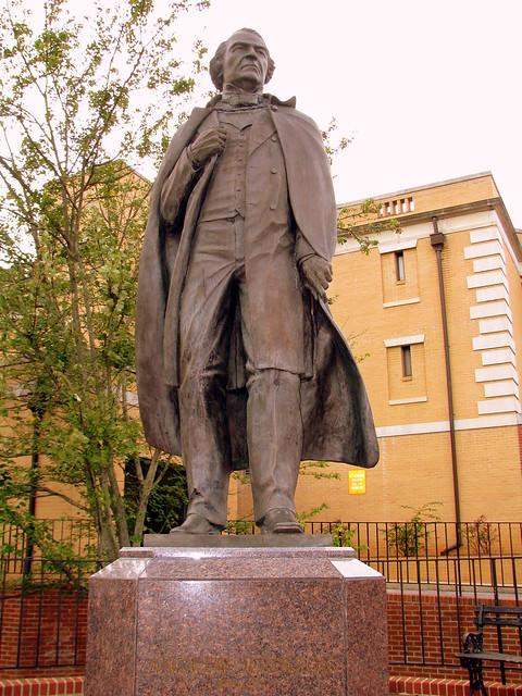 Andrew Johnson Statue - Greeneville, TN