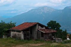 Italian cottage above Lake Garda