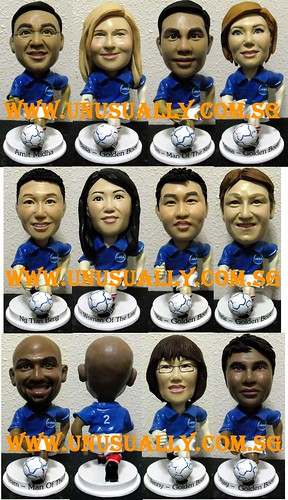 Personalized & Customized Corporate Soccer Figurines