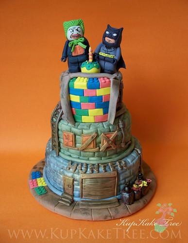 Lego Batman & Joker cake