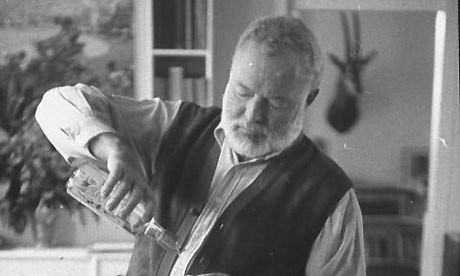 Earnest Hemingway on Wine