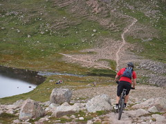 MTB Scottish epic ride in Cairngorms. Ben Macdui-Fords of Avon