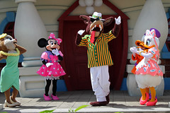The Characters arrive in Toontown
