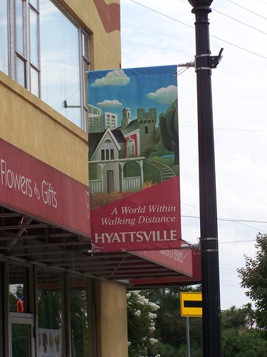 Hyattsville, Maryland Banner: A world within walking distance