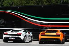 Lamborghini (simons.jasper) Tags: color car racecar canon eos jasper belgium belgie fast special autos circuit spa simons supercars combo kleur 50d 24uren specialcolor autogespot spotswagens francorschamps