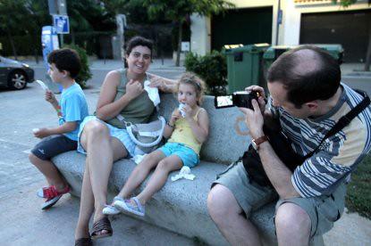 10h22 Caldetes paseo027 Variante El padre filma a su familia