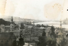1941. Pages of an Album/Egy album lapjai- Budapest, view (elinor04 thanks for 28,000,000+ views!) Tags: vintage river photo hungary view budapest 1940s duna danube lánchíd chainbridge vintagefamilyphotocollection elinorsvintagefamilyphotocollection hungariancollection