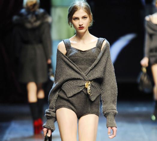 Dolce & Gabbana FW2010 wool underwear 5