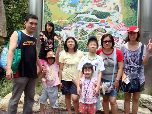 全家人的合照@「劍湖山主題樂園」