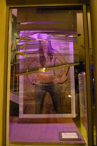 Vitrines Diesel - Paris, juillet 2010
