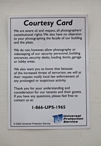 Courtesy Card