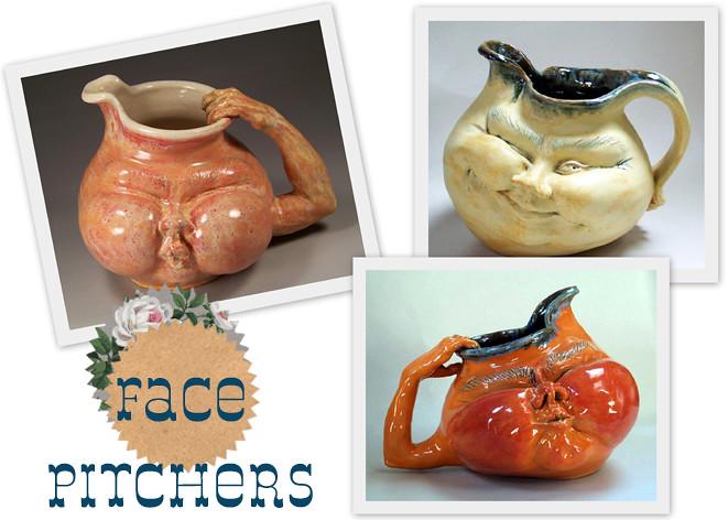 face jugs flat