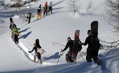 double_zone_one_07 (SNOWCAMPITALY) Tags: snowboarding skiing outdoor events snowboard backcountry camps telemark snowboarder freeride skier sci madonnadicampiglio heliski freeski telemarker freeskier groste skisafari malgamondifra malgavagliana