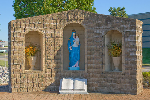 Shrine of Our Lady of the Way, in Saint Peters, Missouri, USA