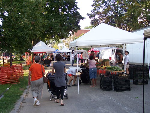 There is a new farmers market in Petworth on Friday evenings