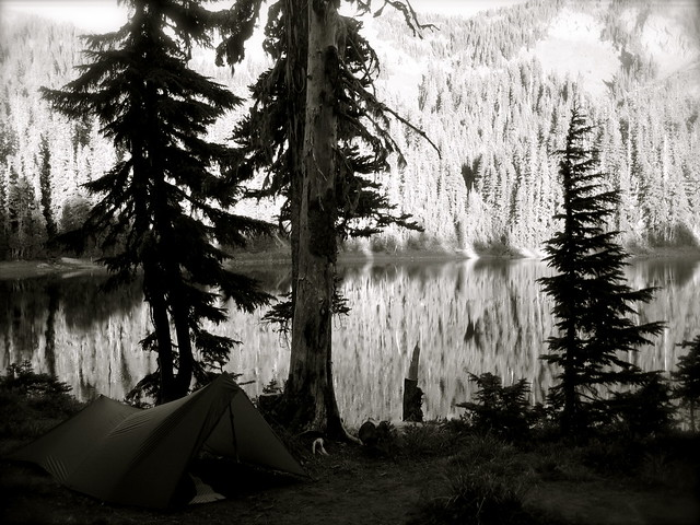 Camp at Lost Lake