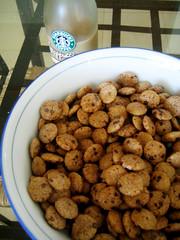 152/365 (radungca) Tags: food coffee breakfast cookie cereal crisps starbucks frappucino