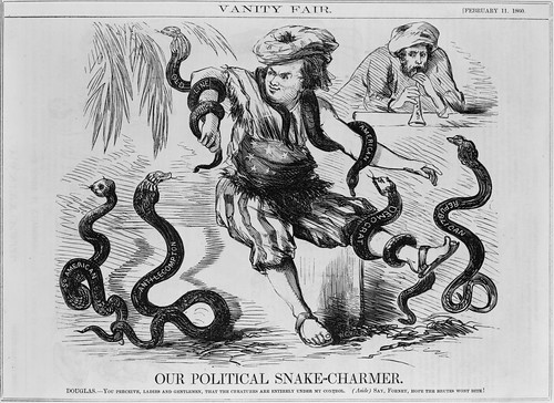 Stephen Douglas Vanity Fair cartoon