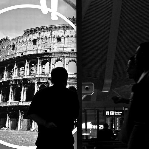 aeropuerto - con destino Roma by eMecHe