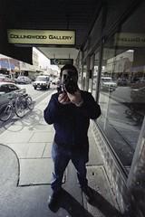 scan-sf-2010-08-29-017 (lonely radio) Tags: windows signs cars film jock reflections shadows collingwood pavement australia melbourne rangefinder victoria bolex pc3066 auspctagged fujipro800z superwideheliar15mmf45 bessar4a cosinavoigtlander unsensored10 bicyclese colllingwoodgallery believeinfilm addedtomelbcamerastyle