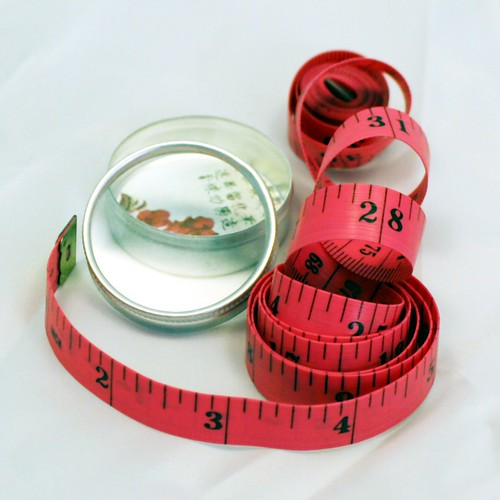Nice To Find In Your Stocking! <br>Hot Pink Tape Measures