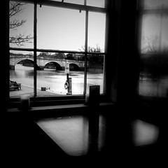 The bridge (Carmen Cabrera (tSfruit)) Tags: uk bridge bw blur london window rio thames river puente ventana pub dof richmond bn app tmesis mobilephoto iphone mobileshot mobileart iphonephoto iphoneapps iphonography iphoneart iphoneshot mobileartwork iphoneography iphoneographer iphoneartwork iphonographer editedoniphone iphone3gs carmencabrera monophix iphoneographers monophixapp blurfx blurfxapp carmencabreraiphoneography carmencabreraphotography