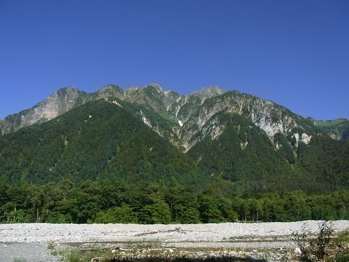 100822~24 穂高登山1日目