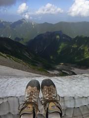 100822~24 穂高登山2日目